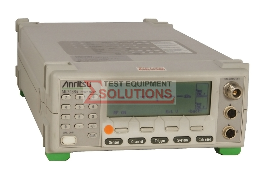 Anritsu ML2438A Dual Channel RF Power Meter