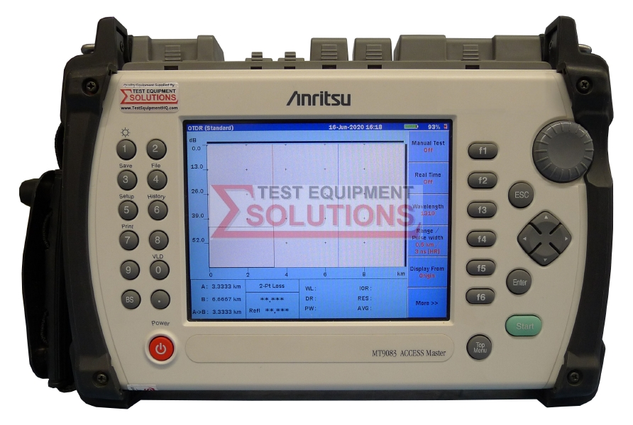 Anritsu MT9083B Access Master OTDR High Performance Model