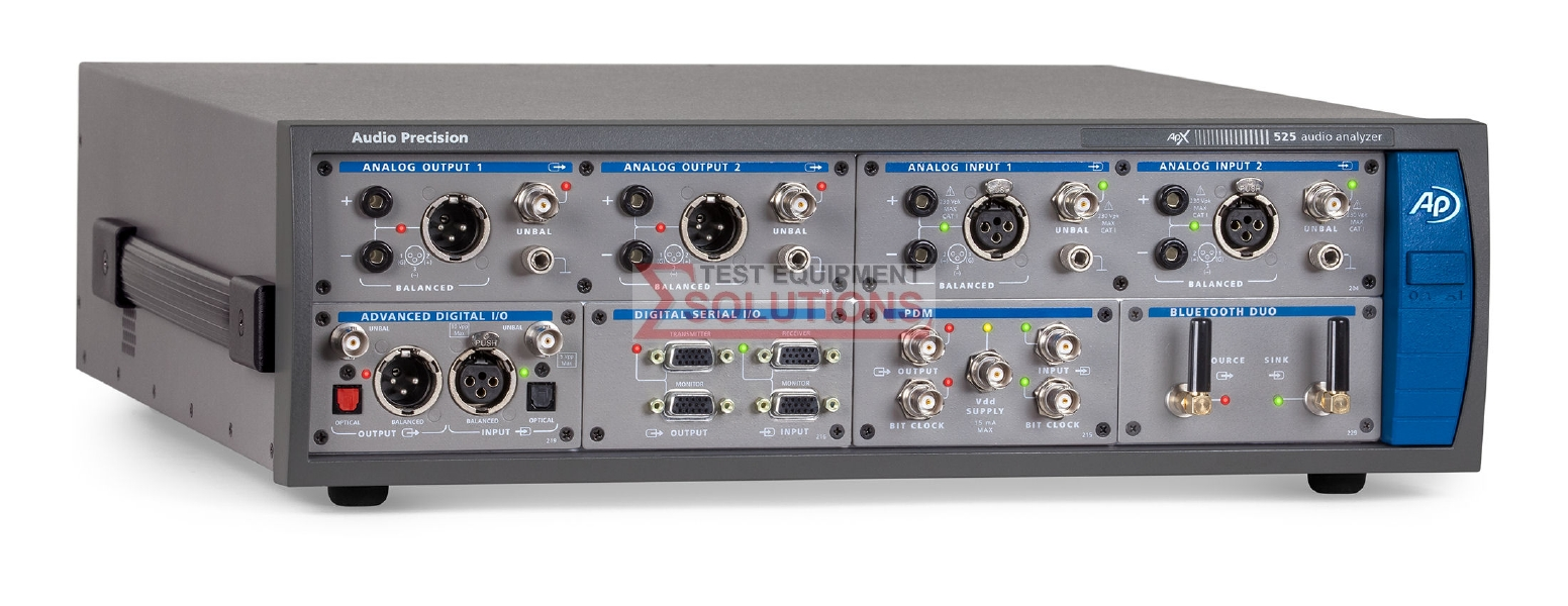 Audio Precision APX525 High Performance Modular Audio Analyzer