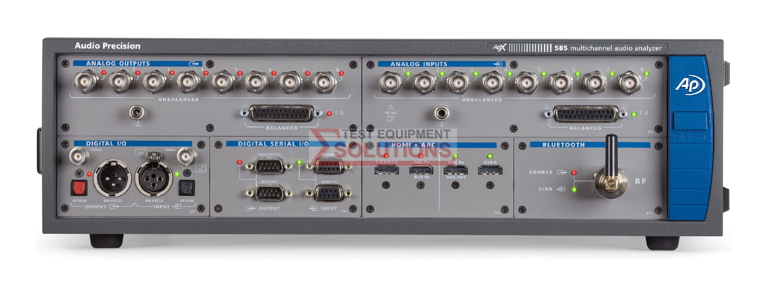 Audio Precision APX585 8 Channel Audio Analyzer