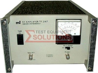 Marconi TF2167 50KHz-80MHz 10W RF Amplifier