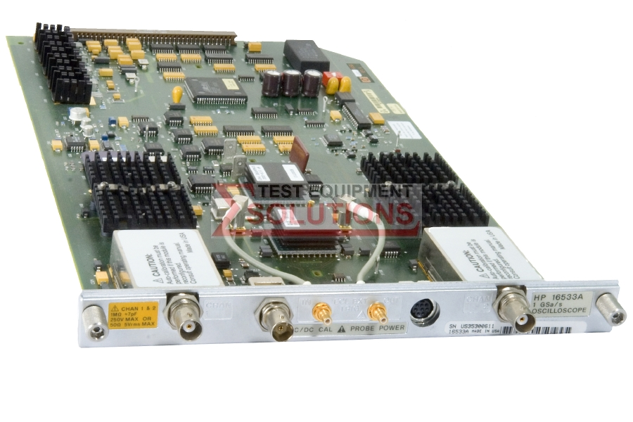 Keysight (Agilent) 16533A 1GS/S DSO Card For 16500 Series