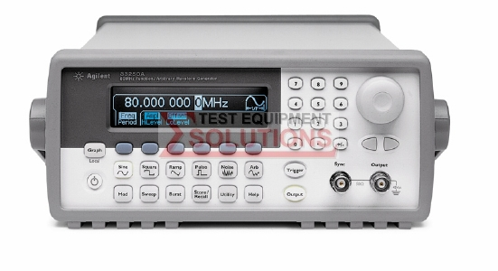 Keysight (Agilent) 33250A 80MHz Function / Arb Waveform Generator