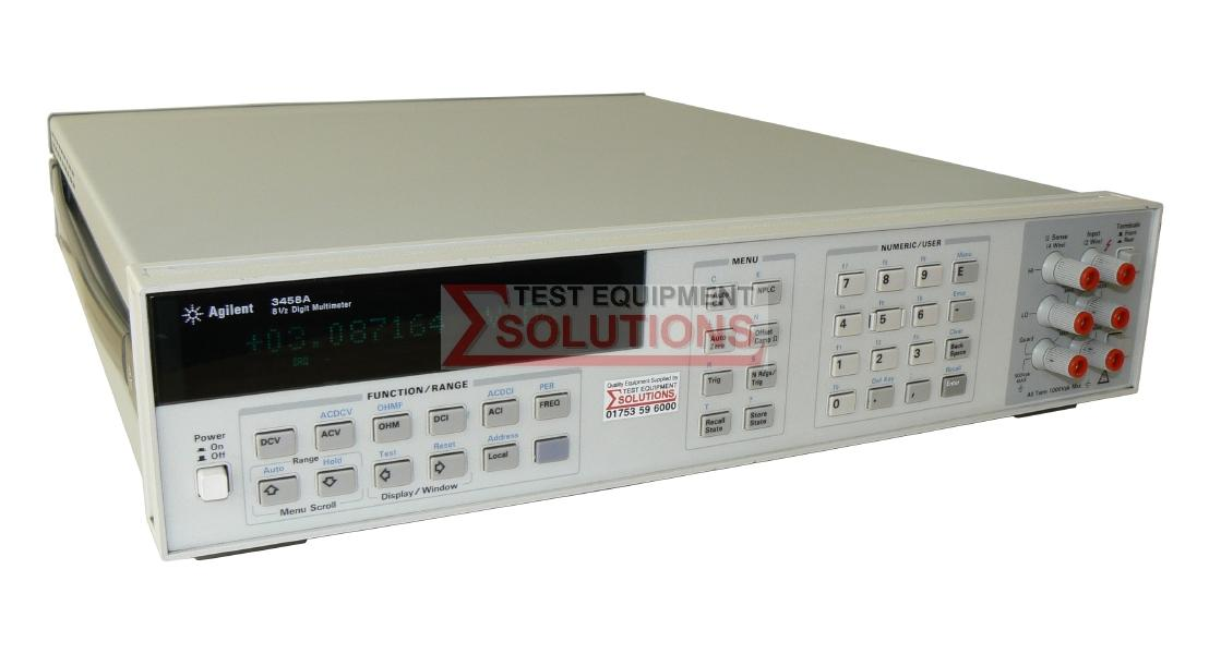 Keysight (Agilent) 3458A 8.5 Digit System Multimeter
