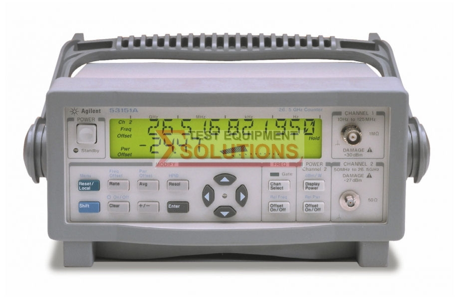 Keysight (Agilent) 53151A 26.5GHz Microwave Counter