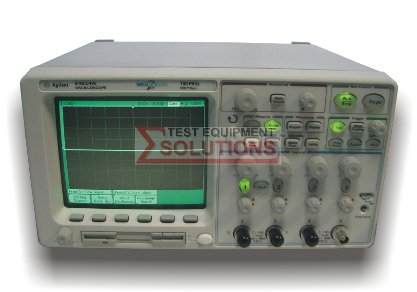Keysight (Agilent) 54624A 4 Channel 100MHz 200MS/s Digitising Scope