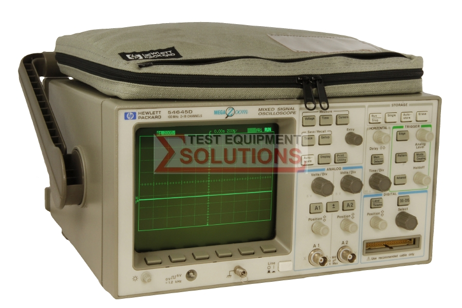 Keysight (Agilent) 54645D 2 Channel 100MHz 200MS/s + 16 Ch Logic Analyser