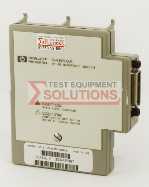 Keysight (Agilent) 54650A GPIB Interface Module