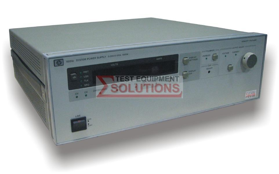 Keysight (Agilent) 6031A 20V 120A DC GPIB Power Supply