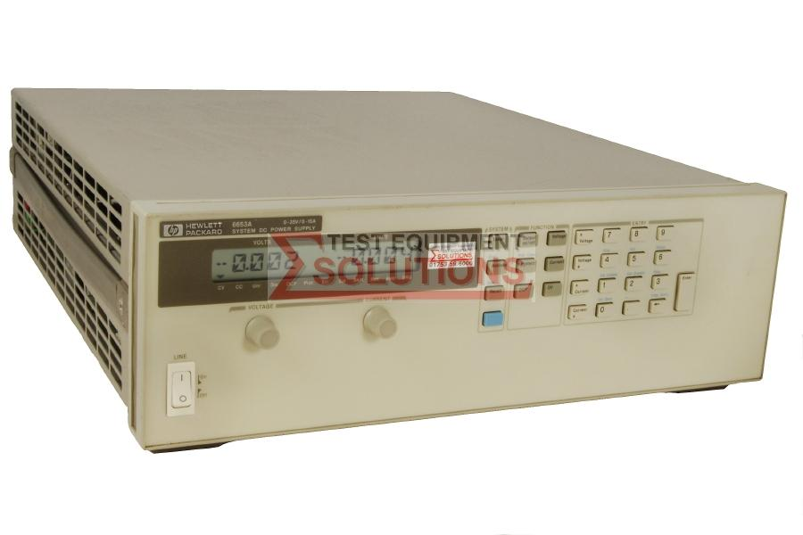 Keysight (Agilent) 6653A 35V 15A 500W DC Power Supply
