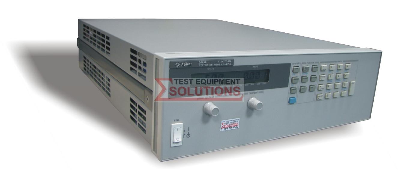 Keysight (Agilent) 6675A 120V 18A 2000W DC Power Supply