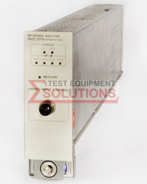 Keysight (Agilent) 70700A 20 MS/S Digitiser Module