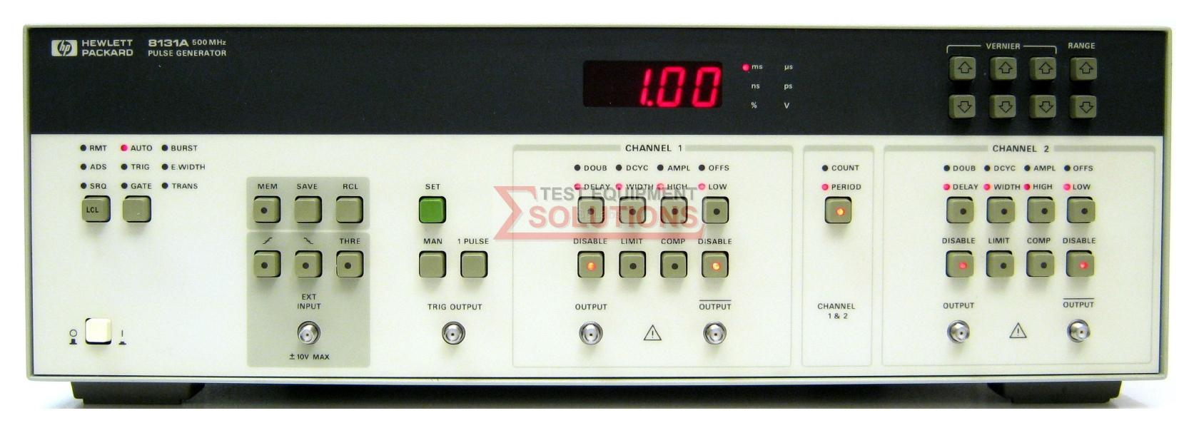 Keysight 8131A - Buy Refurbished Used or Rent at UK's Lowest Price