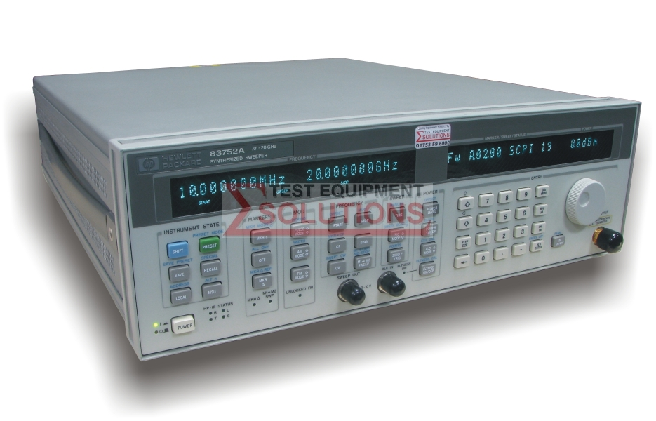 Keysight (Agilent) 83752A 10MHz-20GHz Synthesised Sweeper