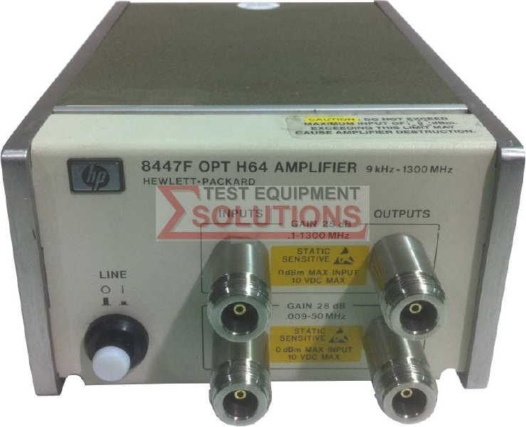 Keysight (Agilent) 8447F 1.3GHz Pre/Power Amplifier
