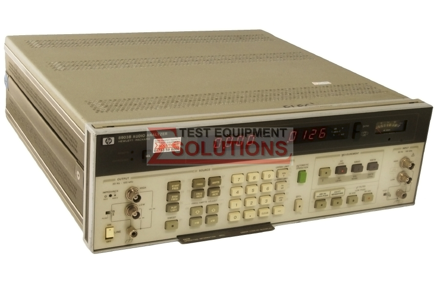 Keysight (Agilent) 8903B 20Hz-100kHz Audio Analyser