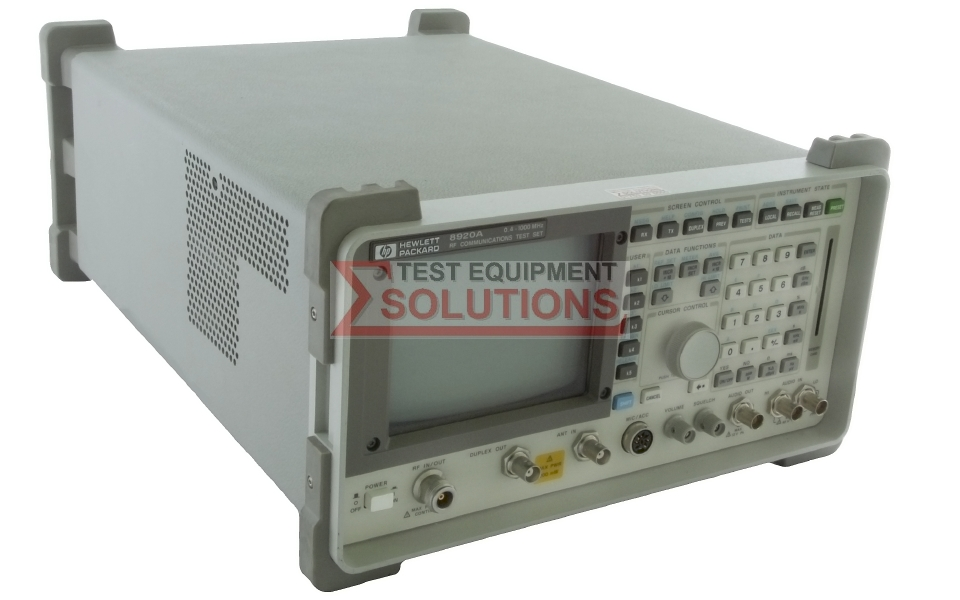 Keysight (Agilent) 8920A 1GHz Radio Comms Test Set