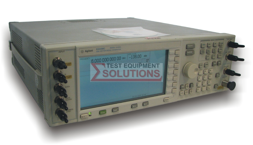 Keysight (Agilent/HP) E4438C 1, 2, 3, 4 Or 6GHz ESG Vector Signal Generator