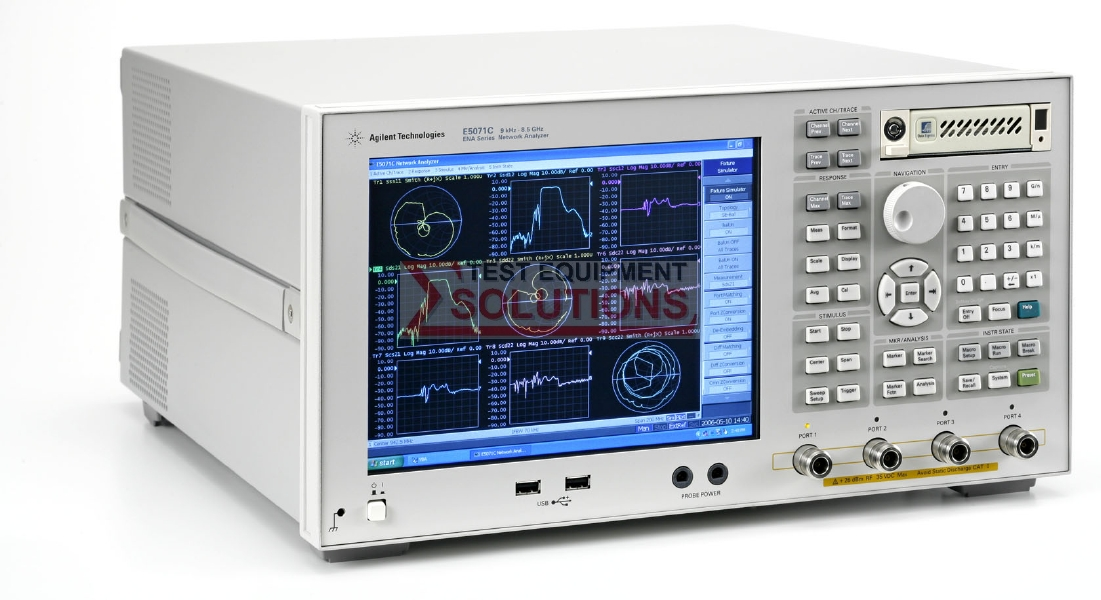 Keysight (Agilent) E5071C 4.5, 6.5, 8.5, 14 Or 20GHz Vector Network Analyzer