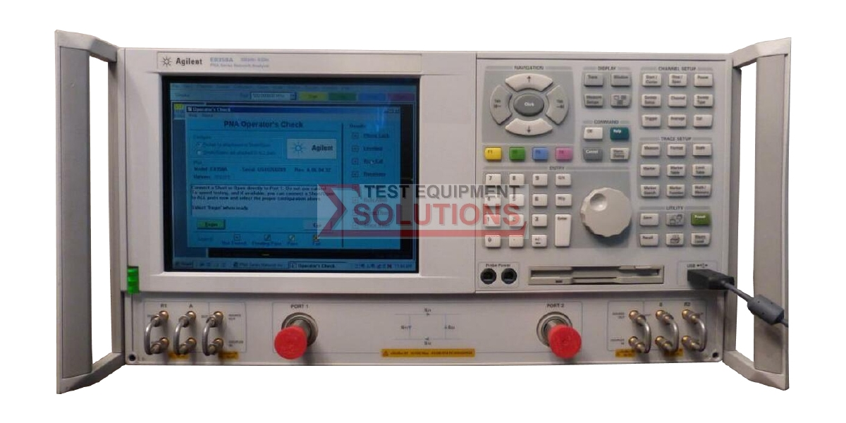 Keysight (Agilent/HP) E8358A 9GHz Vector Network Analyser