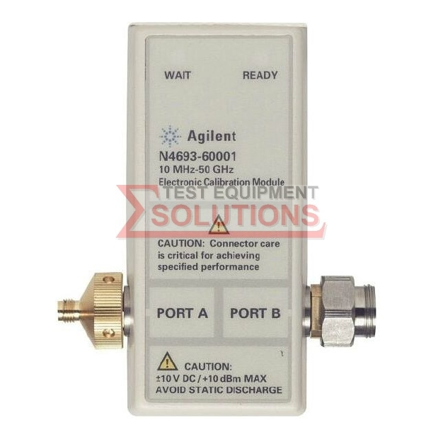 Keysight (Agilent) N4693A 10MHz to 50GHz ECAL Module, 2.4mm, 2 Port