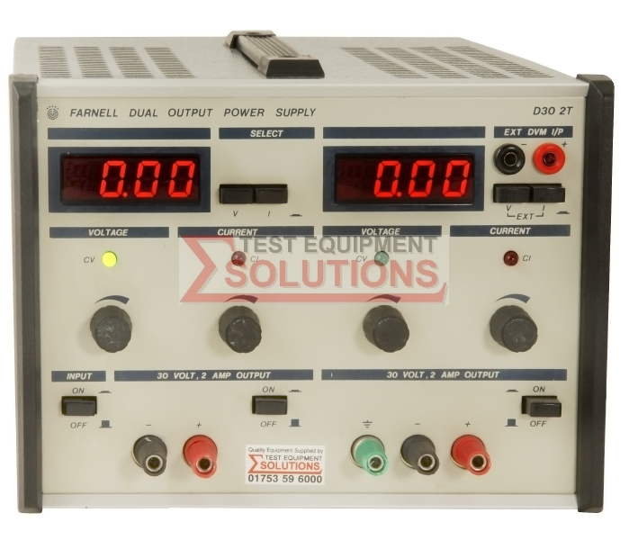 Farnell D30 2T 30V 0-2A Dual Output Power Supply