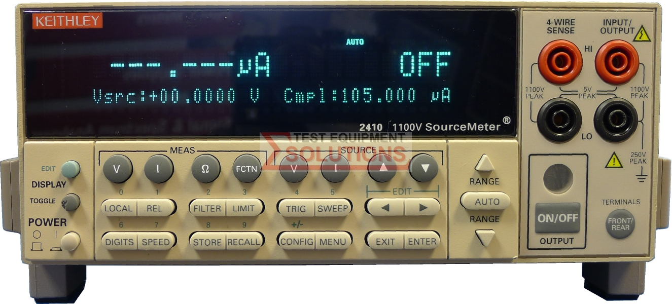 Keithley 2410 1100V 1A 20W High Voltage Sourcemeter