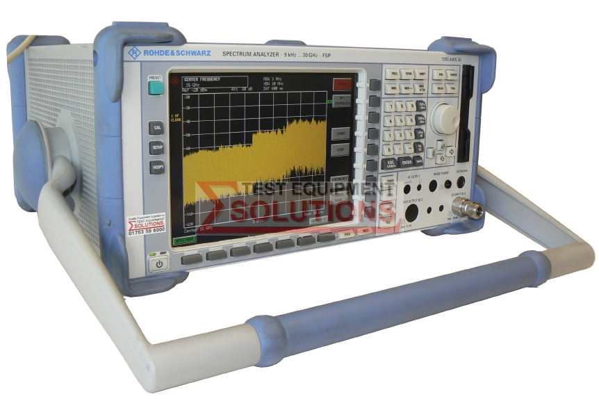 Rohde & Schwarz FSP30 9kHz to 30GHz Spectrum Analyser (1164.4391.30)