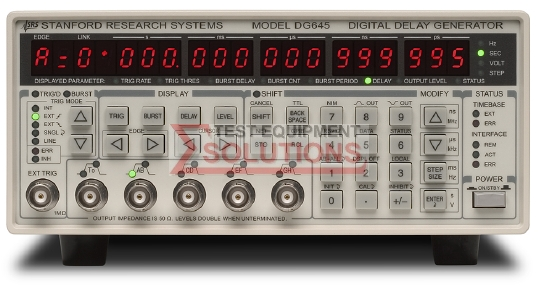 Stanford Research DG645 4 Channel Digital Delay And Pulse Generator