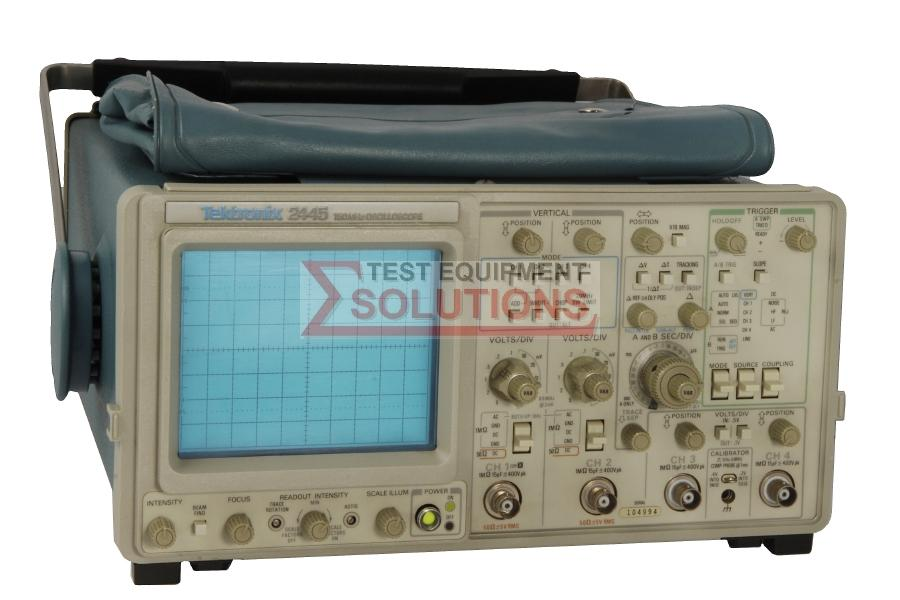 Tektronix 2445 4 Channel 150MHz Analogue Scope
