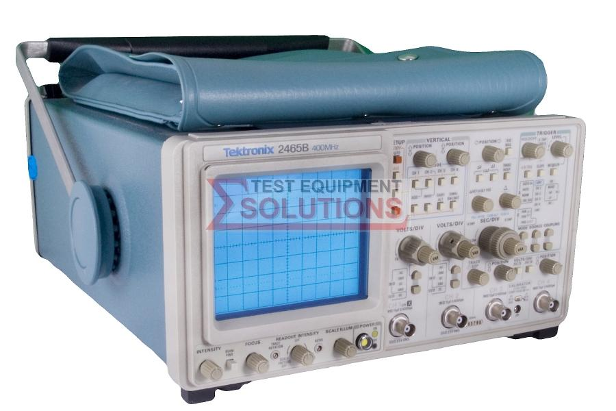 Tektronix 2465B 4 Channel 400MHz Analogue Scope