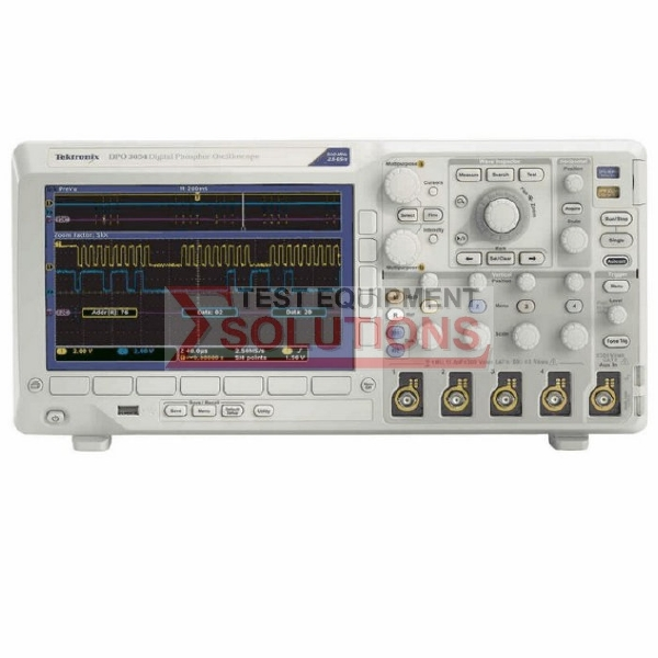 Tektronix DPO3054 500MHz 2.5GS/s 4 Channel Digital Phosphor Scope