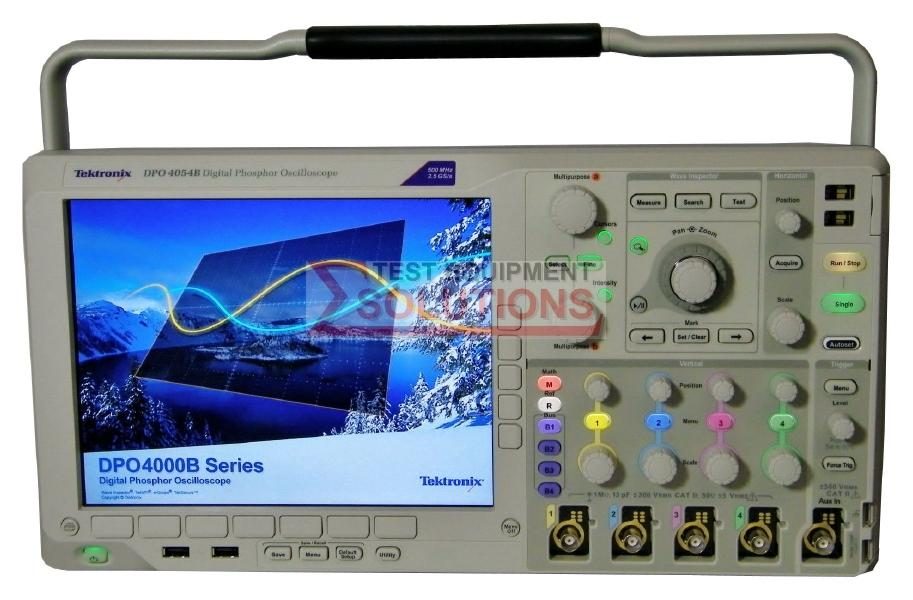 Tektronix DPO4054B 500MHz 2.5GS/s 4 Channel Digital Phosphor Scope