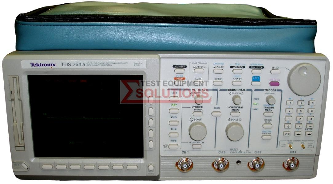 Tektronix TDS754A 4 Channel 500MHz 2GS/S Digitising Scope
